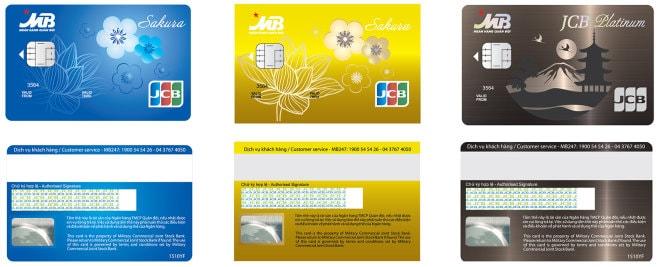 Các loại thẻ tín dụng MBBank