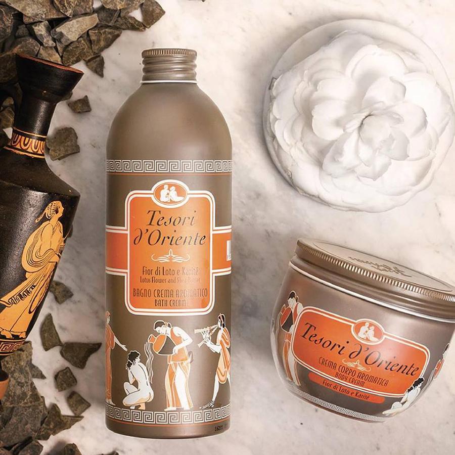 Đôi nét về sữa tắm Tesori D'Oriente