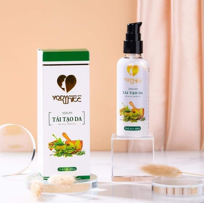 Yody White Tái Tạo Da Phương Anh - Việt Nam là sản phẩm tái tạo da
