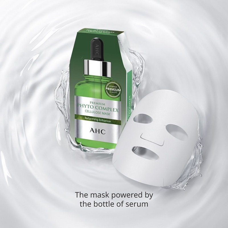 Mặt nạ tái tạo da AHC Phyto Complex Cellulose - Hàn Quốc là sản phẩm tái tạo da