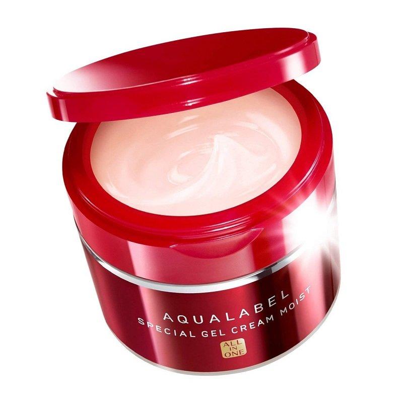 Sản phẩm tái tạo da Shiseido Aqualabel Gel Cream 5 in 1 - Nhật Bản