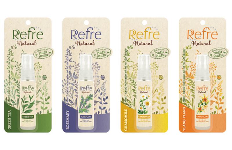 Xịt khử mùi Refre Natural