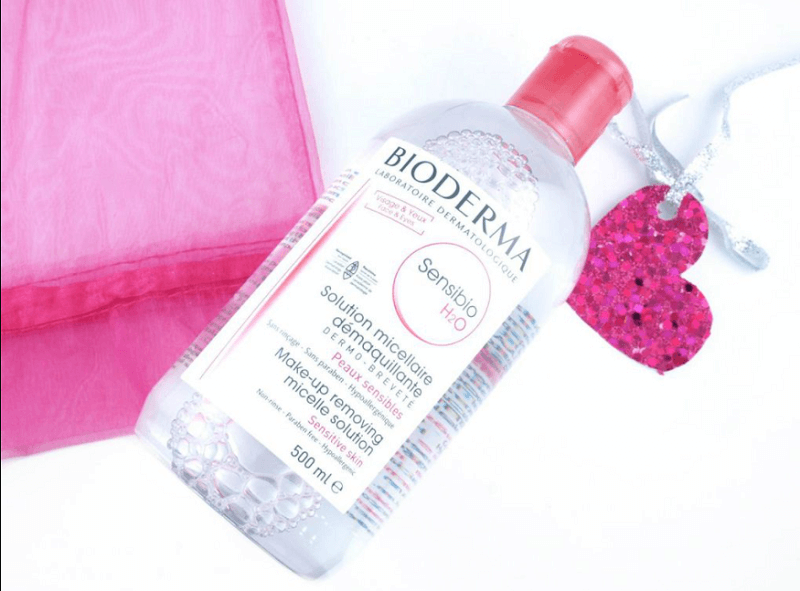 nước tẩy trang Bioderma hồng