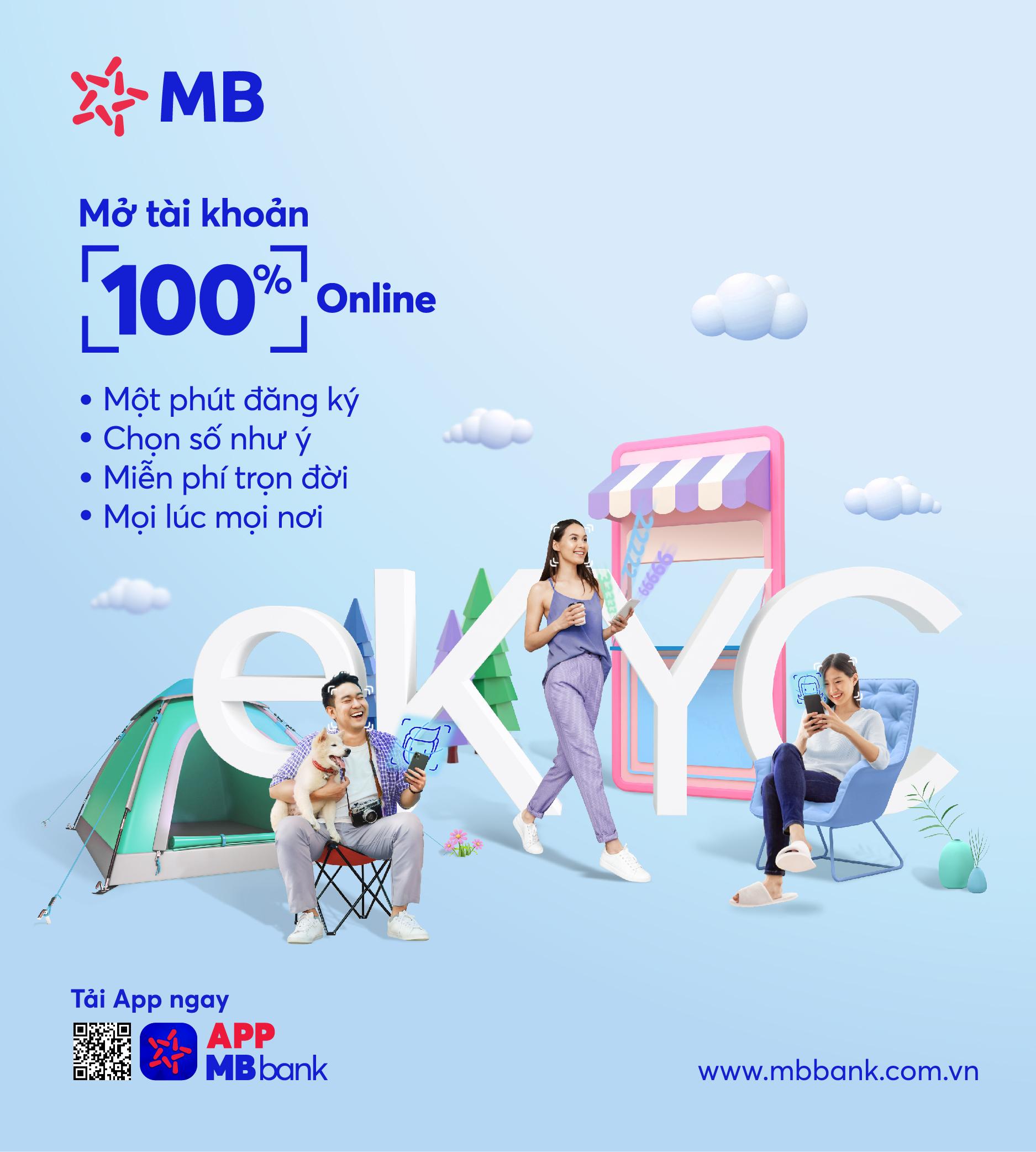 Ưu đãi mở tài khoản trên App MBBank