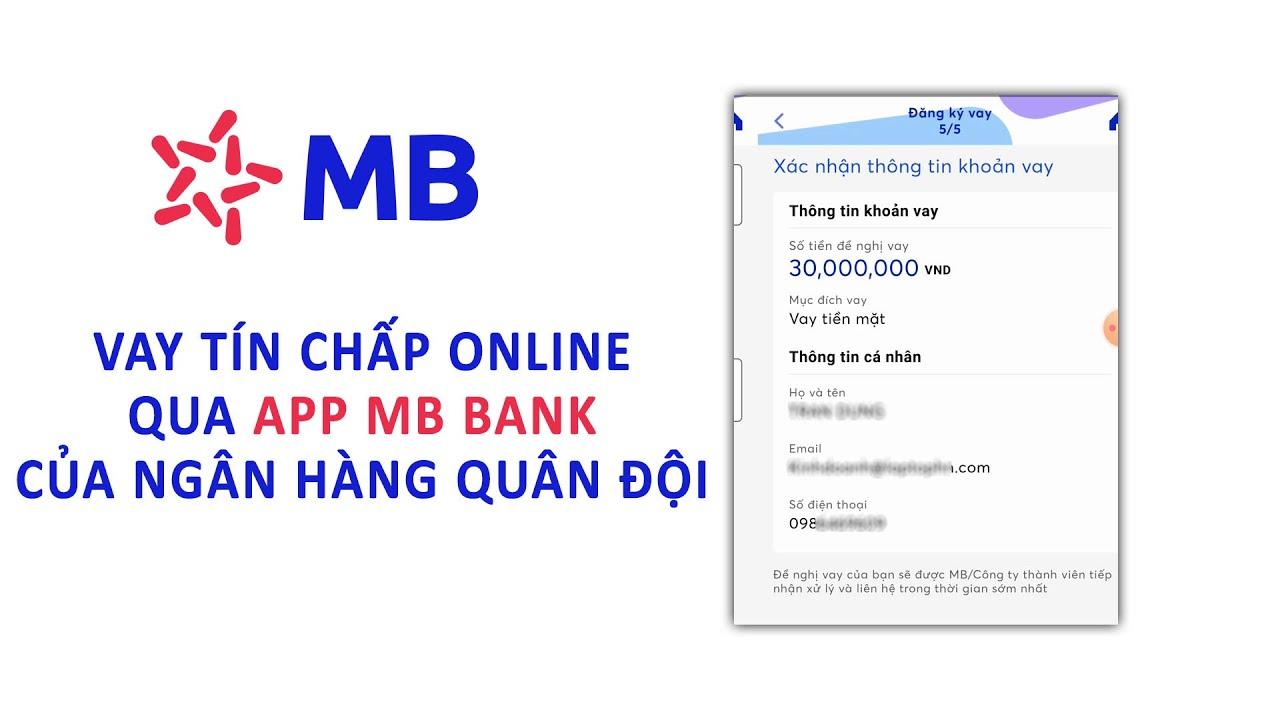 Vay online qua App MBBank