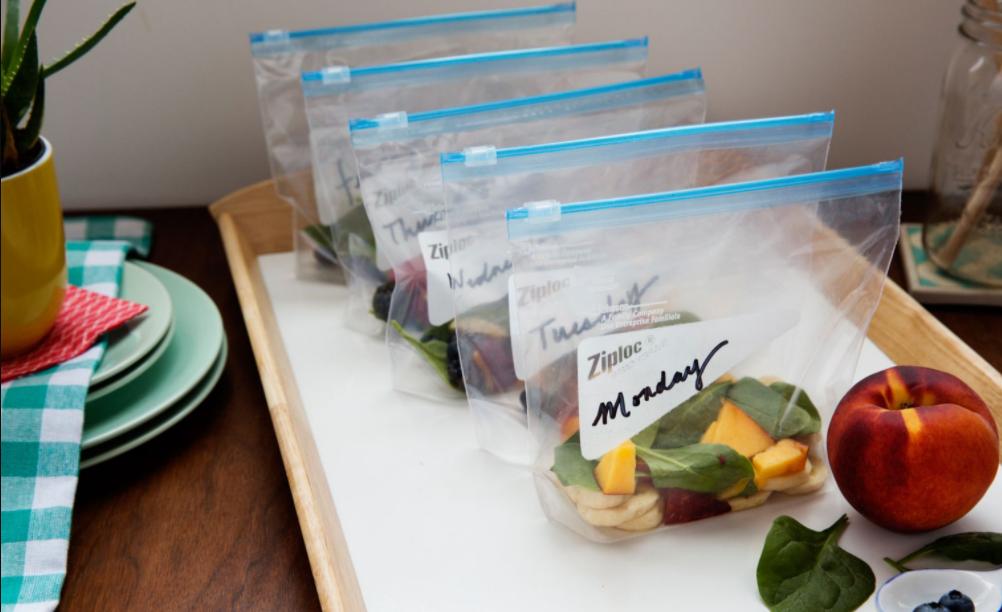 Túi zip đựng thực phẩm là đồ dùng nhà bếp tiện ích