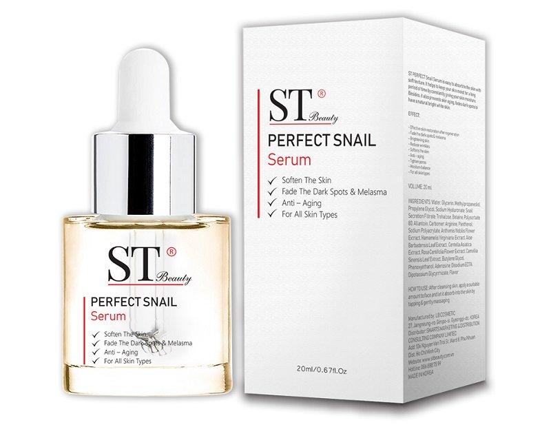 Serum Ốc Sên ST Beauty - Hàn Quốc là sản phẩm tái tạo da