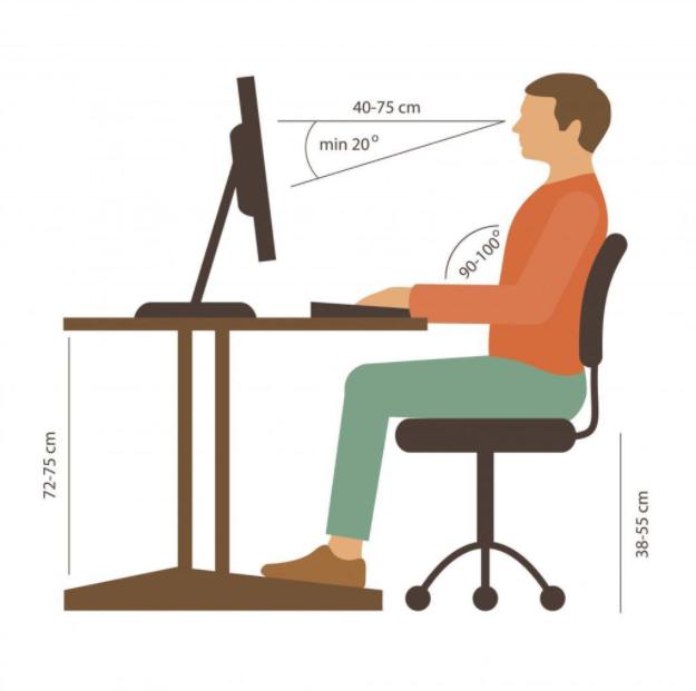 Giữ khoảng cách với máy tính là một bí kíp dưỡng da đấy