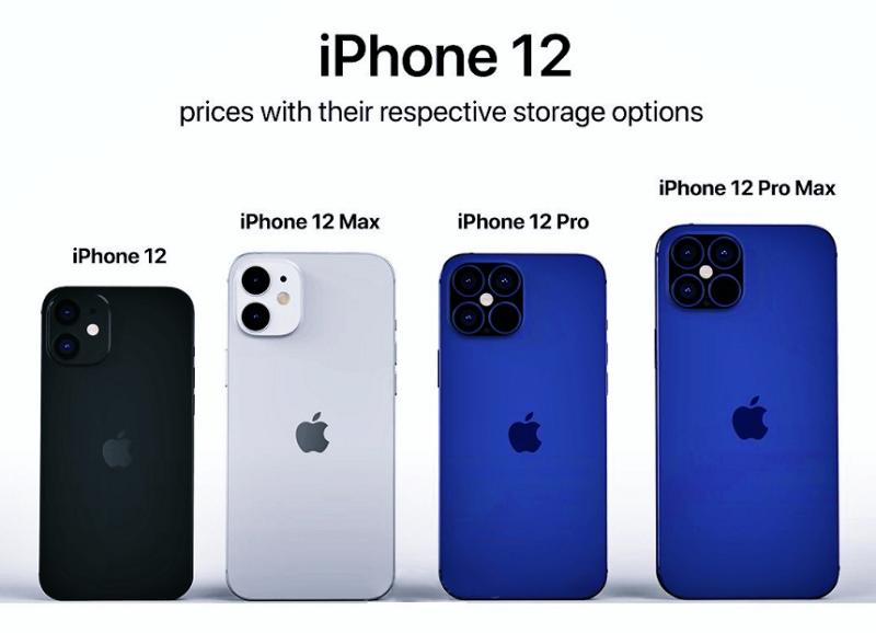 ra mắt Iphone 12 pro max