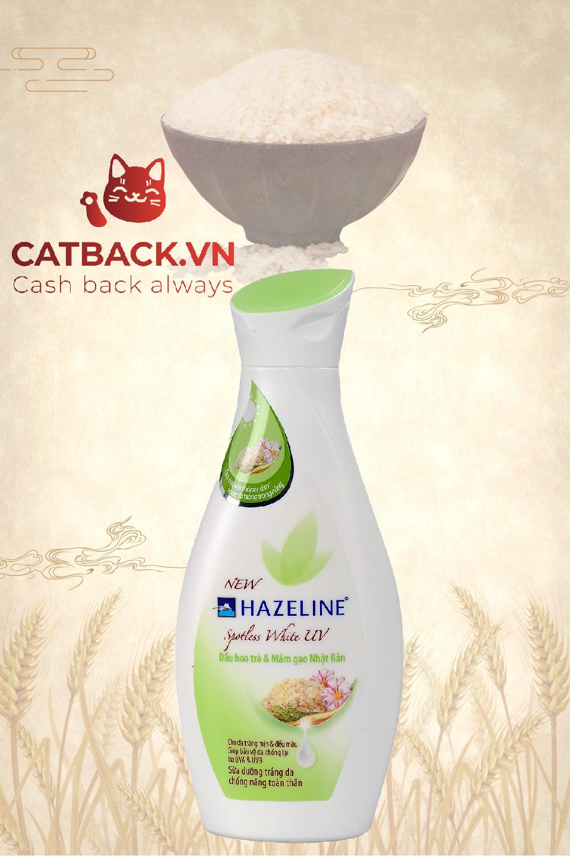 Sữa dưỡng thể Hazeline mầm gạo Nhật Bản