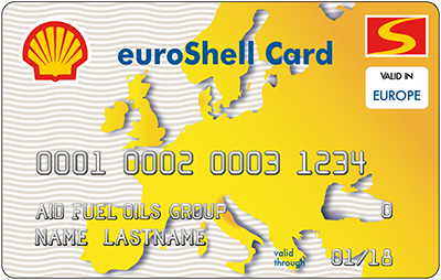 Shell International fuel card