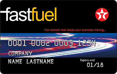 Fastfuel fuel card
