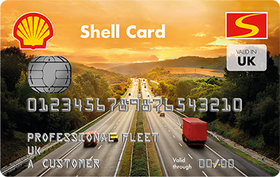 Shell National Network fuel card