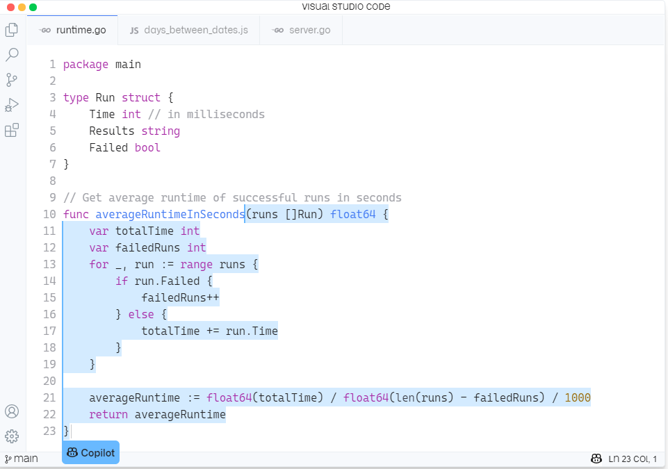 Cool Features of Github Copilot