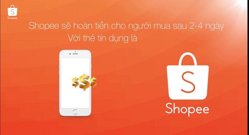 Làm sao để được hoàn tiền trên Shopee?