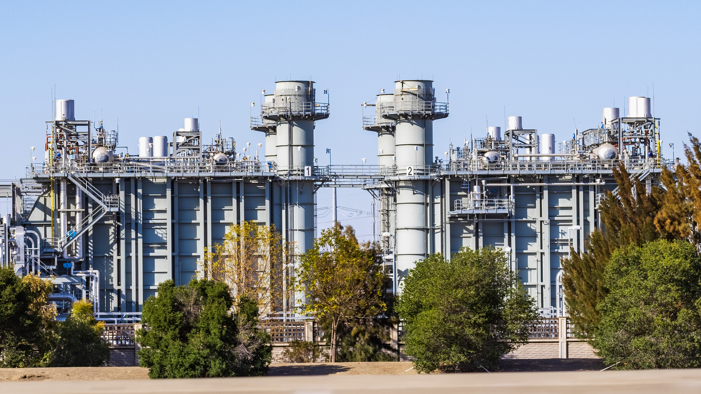 Natural gas combined-cycle power plant