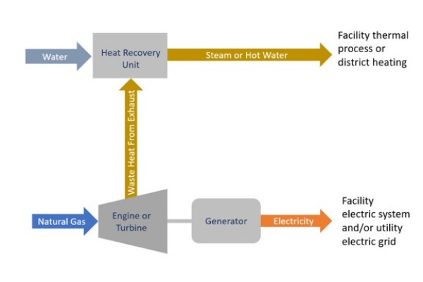 A typical CHP application