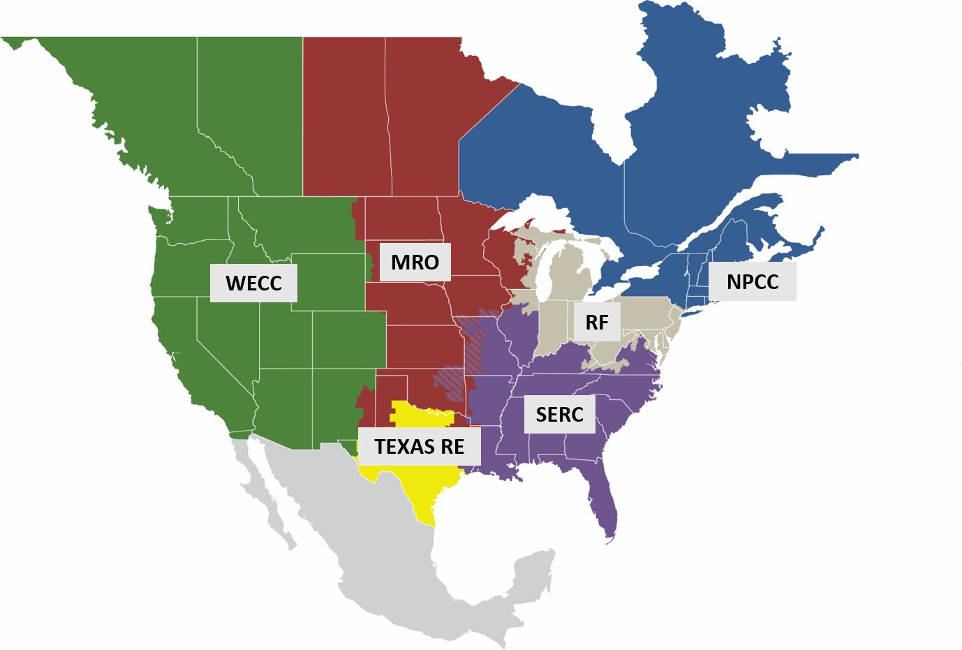 NERC Regional Entities