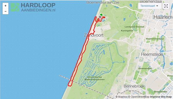 Hardlooproute - door de duinen