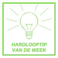 HARDLOOPTIP VAN DE WEEK