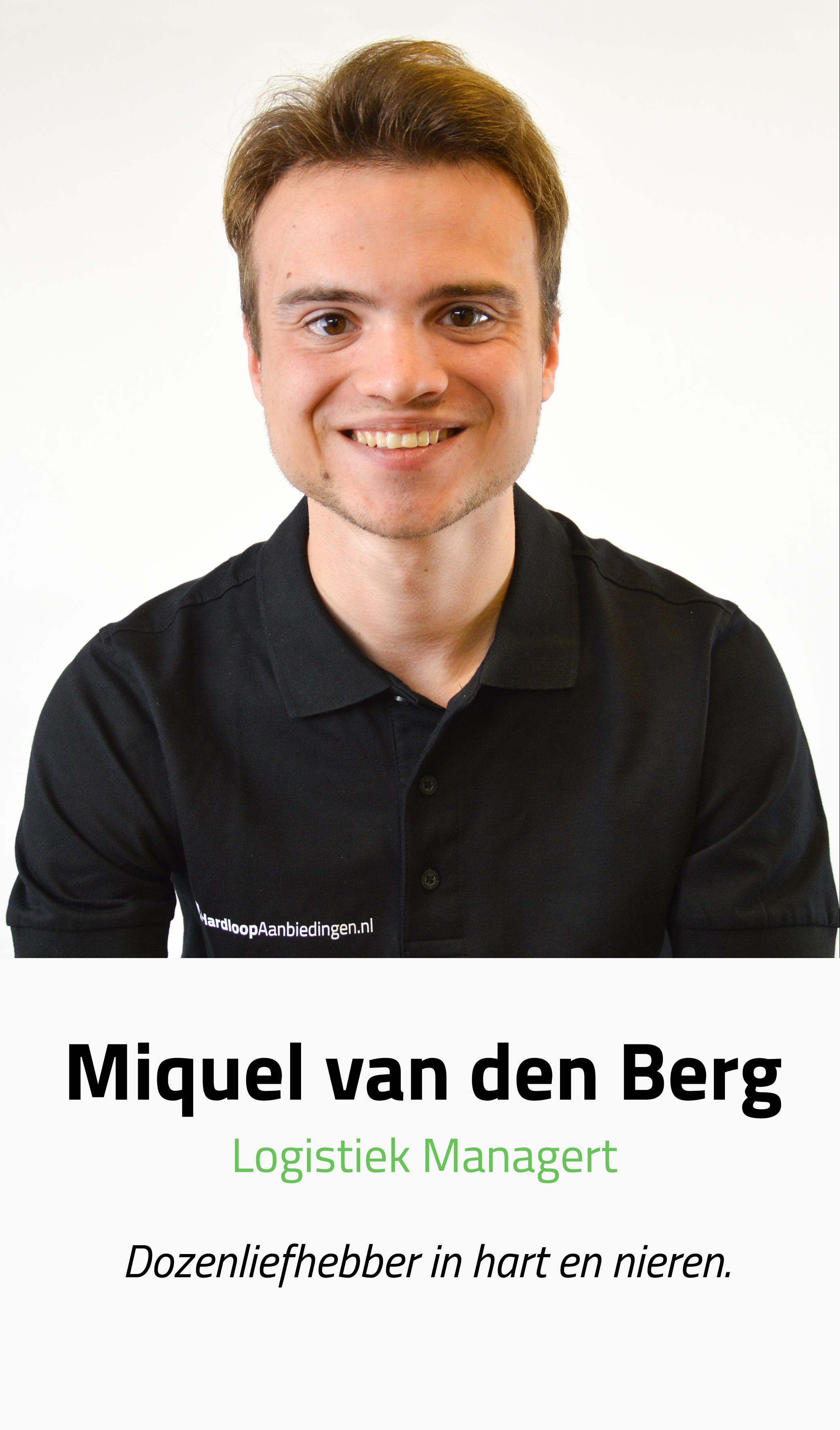 Miquel | Hardloopaanbiedingen.nl