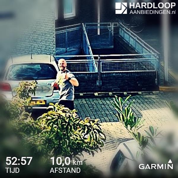 Hardlooproute - figure running