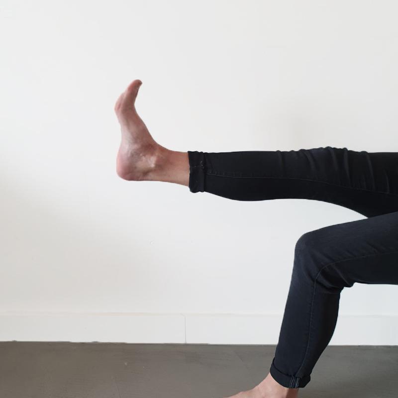 Hielspoor oefening 1 | Strekken van de voeten