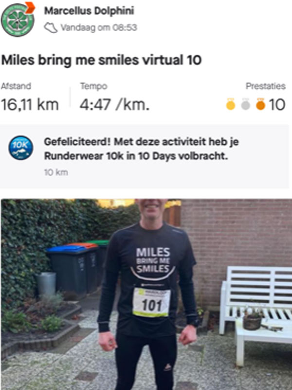Marcel | Virtual run hardloopaanbiedingen.nl