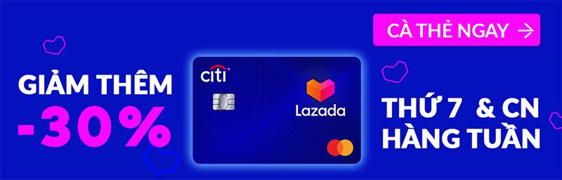 Thẻ tín dụng Lazada Citi Platinum là gì?