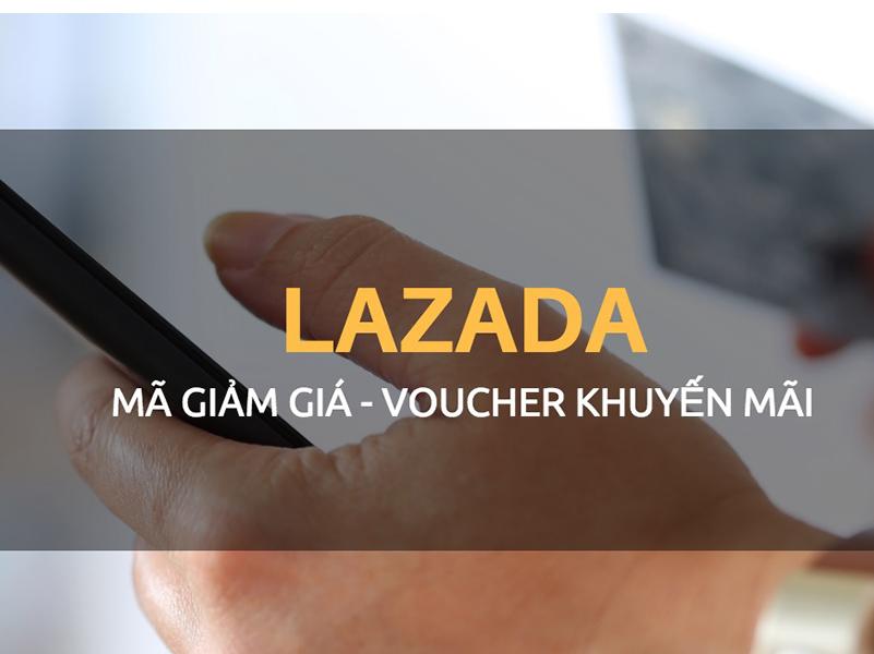 Tiến hành nhập mã giảm giá Lazada trên ứng dụng