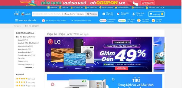 Có nên mua hàng điện tử ở Tiki?