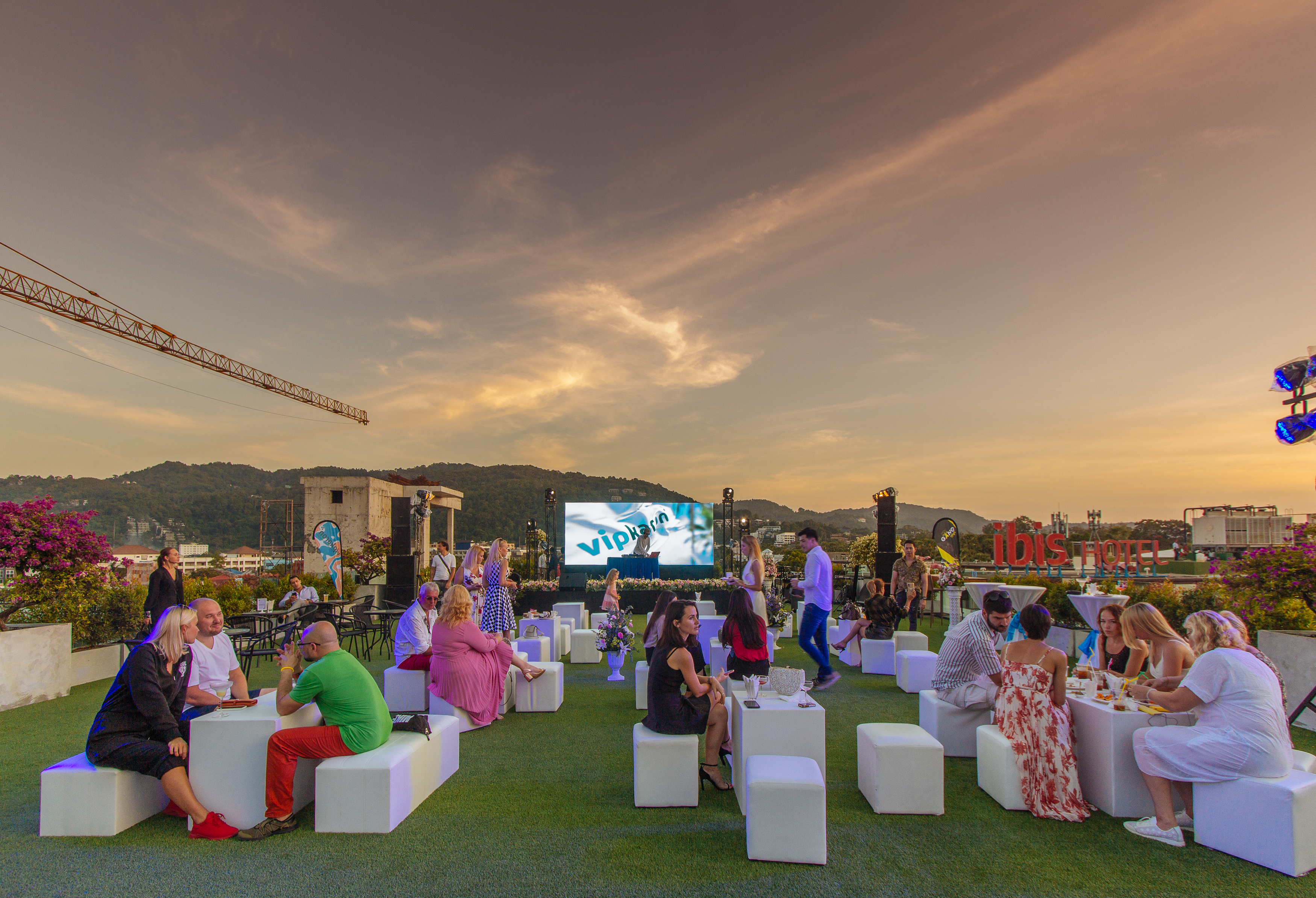 Special Rooftop event from Phuket9