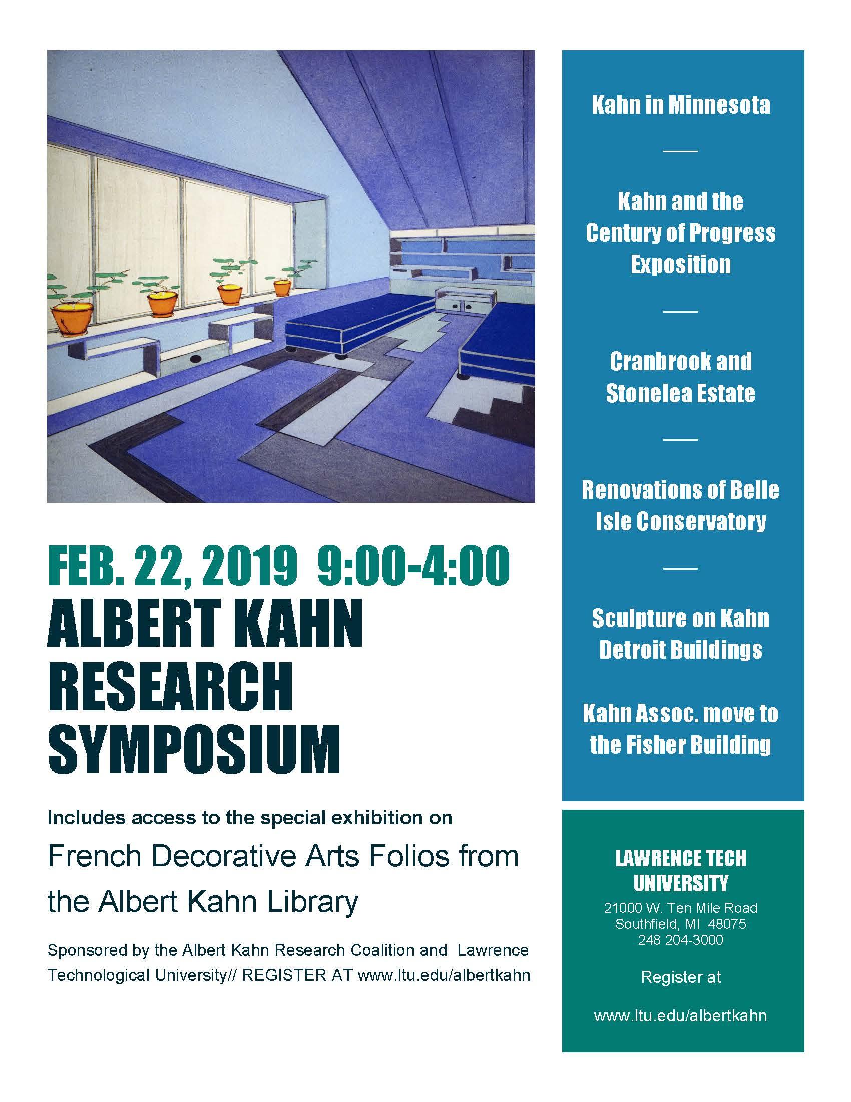 Albert Kahn Research Symposium 2019