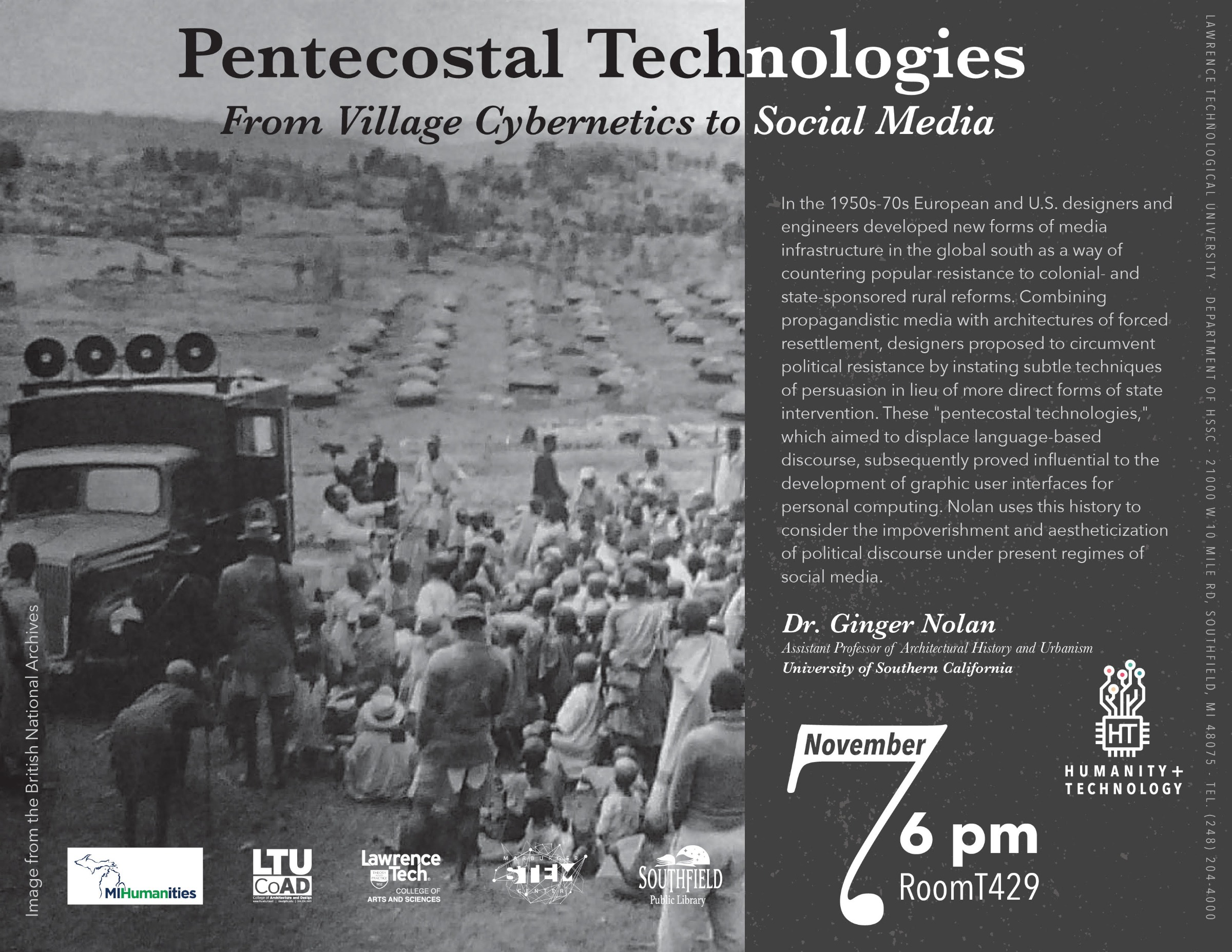 Pentecostal Technologies From Village Cybernetics to Social Media