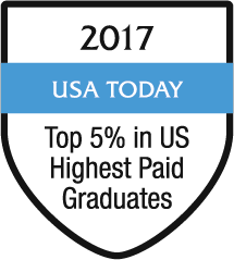 2017 Highest Paid Graduate - USA Today