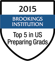 2015 Top 5 in Preparing Graduates - Brookings Institution