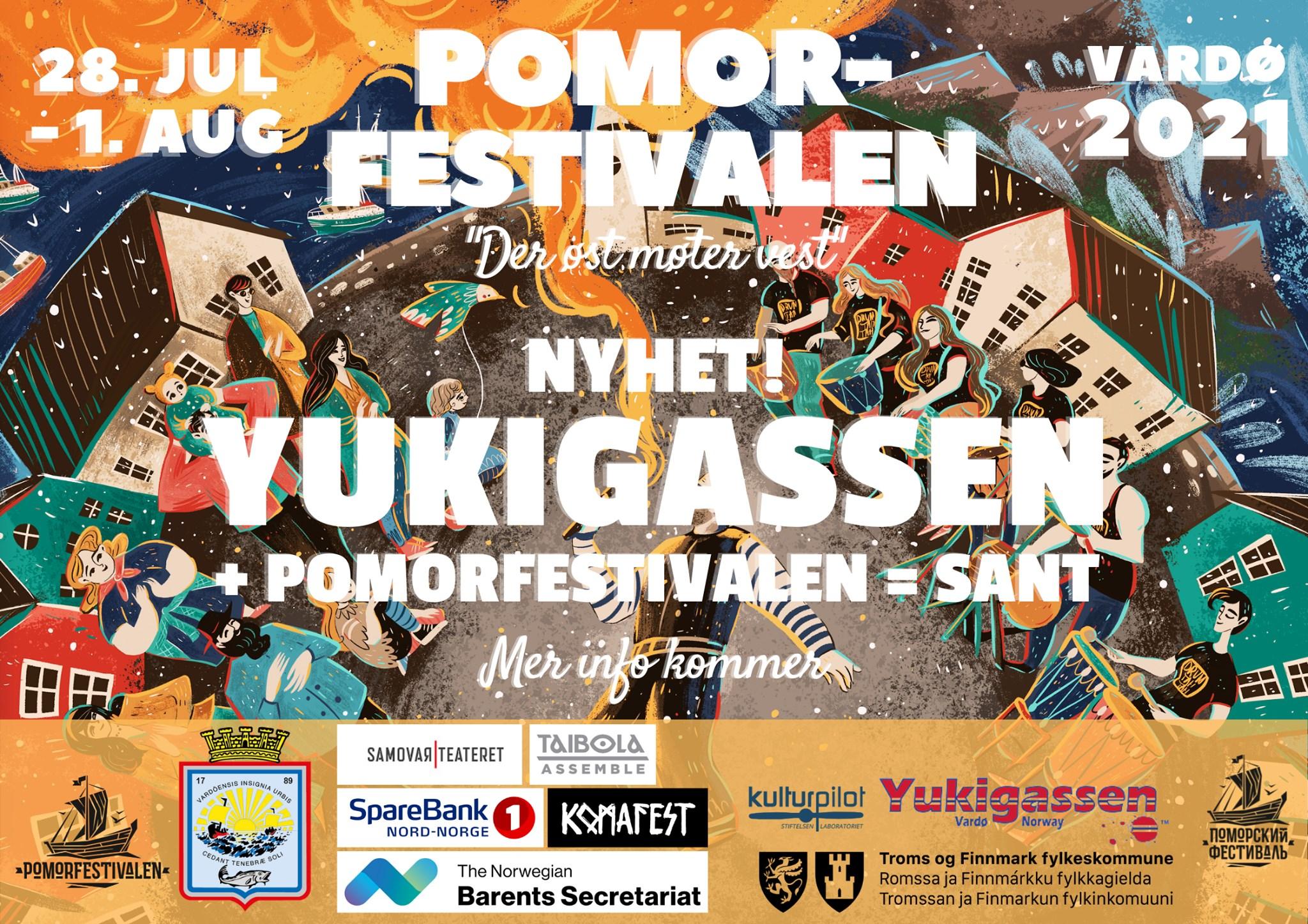 Yukigassen under Pomorfestivalen 2021
