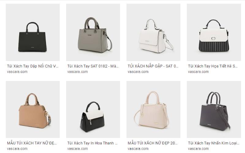 Các mẫu thiết kế túi xách Vascara