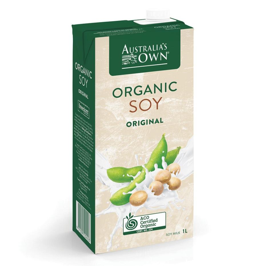 Sữa đậu nành Organic Australia's Own