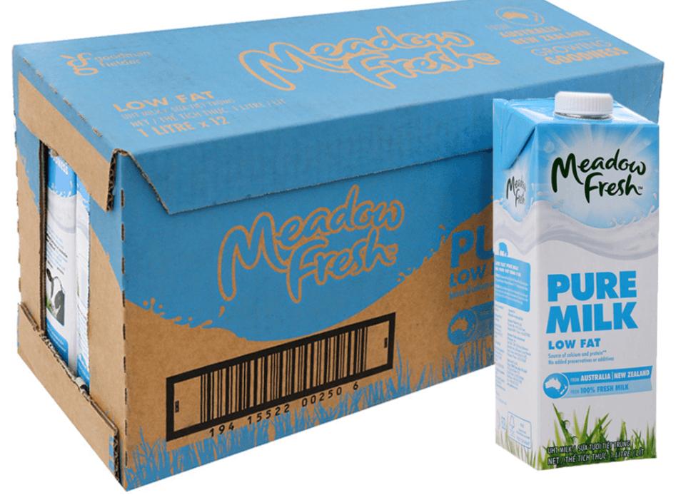 Sữa tươi tách béo Meadow Fresh