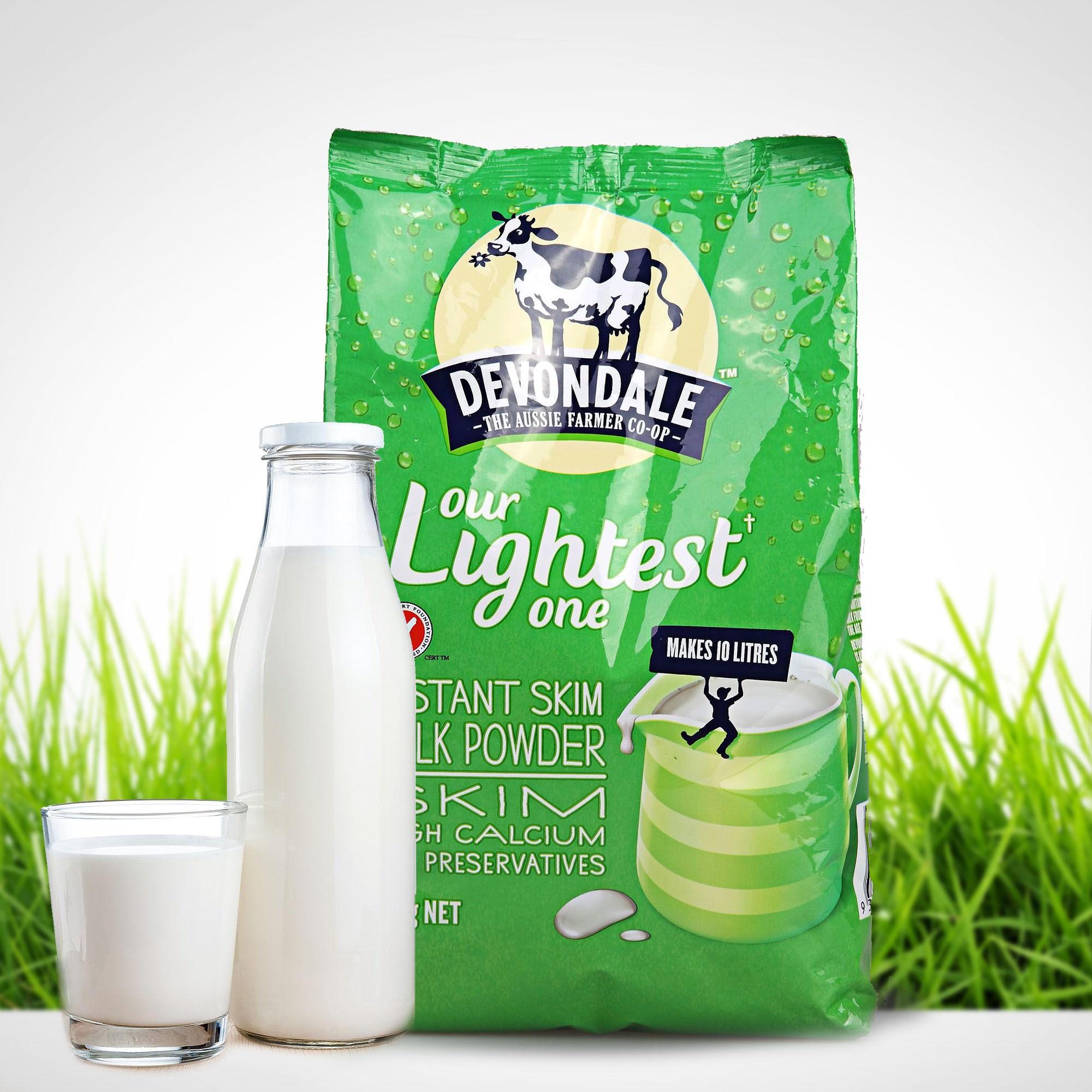 Sữa tươi Devondale SKIM dạng túi 1kg