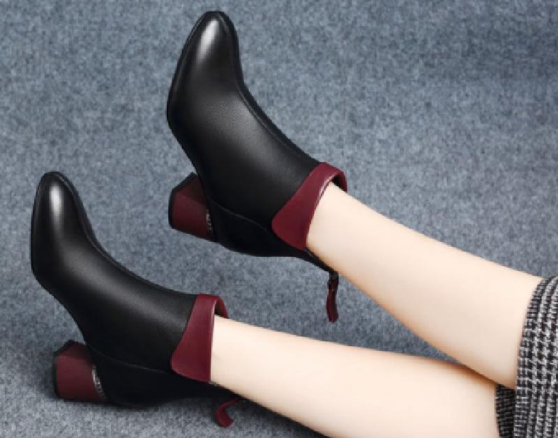 Top 7 mẫu giày boot nữ chất như nước cất 4