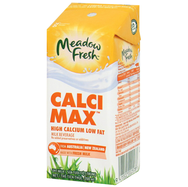 Sữa tươi meadow fresh calci max