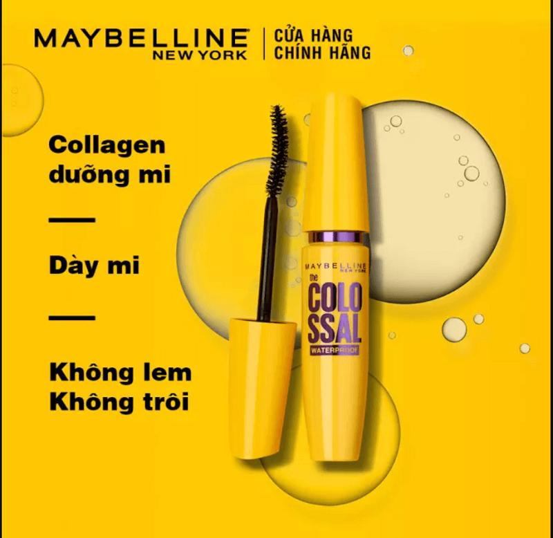 thương hiệu Maybelline