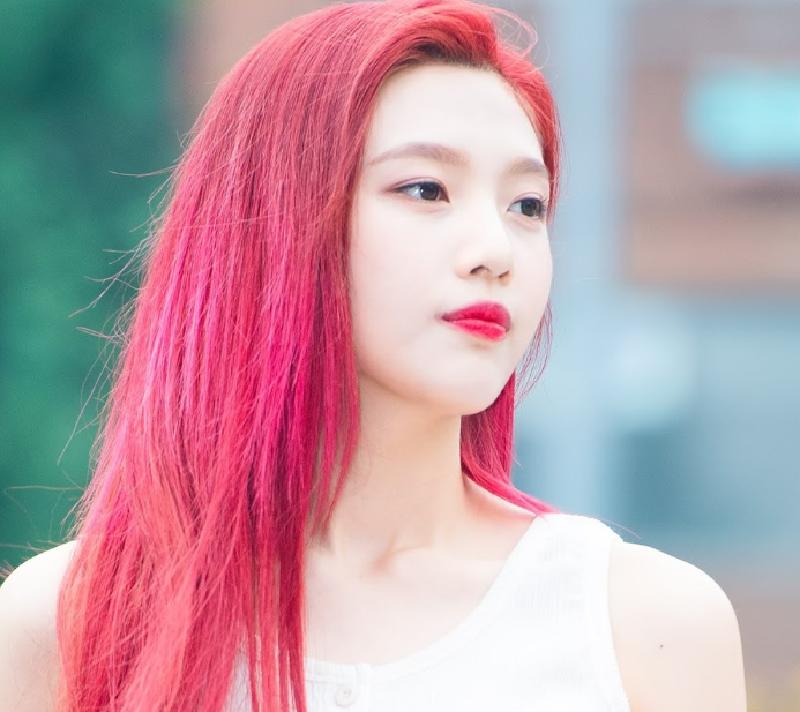 màu tóc cá tính của Joy