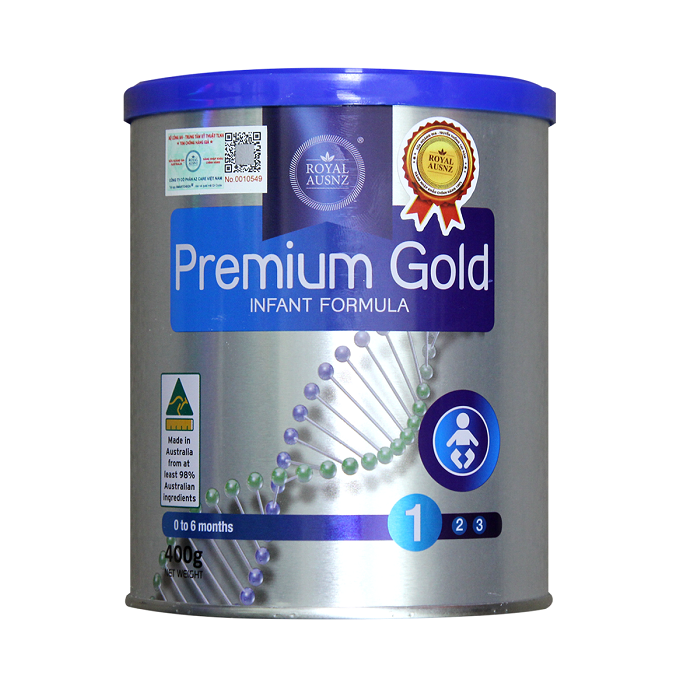 Royal Ausnz Premium Gold 1 cho bé từ 0-6 tháng
